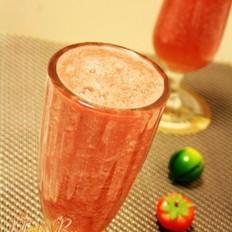 鲜榨西瓜荔枝汁
