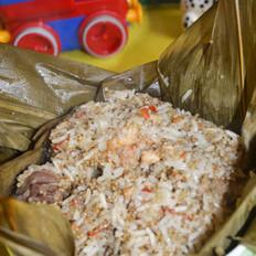 粽香藜麦糯米鸡