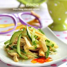 腐竹拌黃瓜