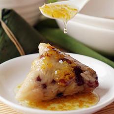 桂花杂豆粽