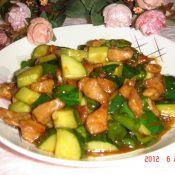 青椒炒双丁