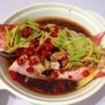 剁椒蒸红鲷鱼
