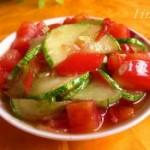 番茄炒秋黄瓜