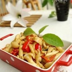 肉丝海鲜菇