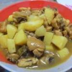 咖喱土豆烧鸡