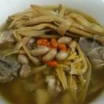 黄花菜枸杞排骨汤