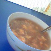 红米瑶柱海虾粥