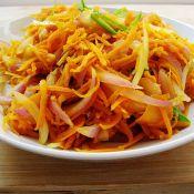 胡萝卜洋葱小炒