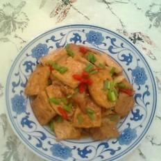 油煎豆腐烧肉