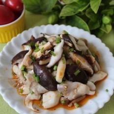 红油拌菌菇