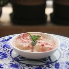 蓝莓果酱冰激凌