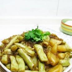 土豆豆角炖粉条