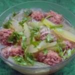 羊肉冬瓜丸子汤