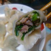 天鹅蛋韭菜水饺