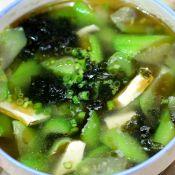 丝瓜紫菜白玉汤