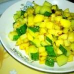 土豆炒黄瓜丁