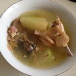土鸡甲鱼冬瓜汤