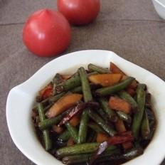 土豆燒刀豆