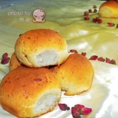 玫瑰蜂蜜小面包