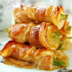 杏鲍菇猪肉卷