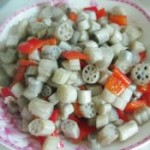 清炒藕带丁