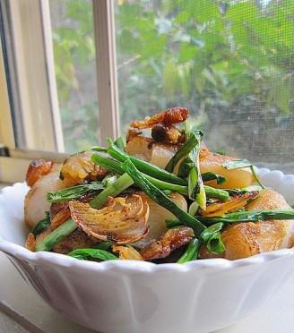 虾米香煎肠粉的做法