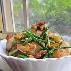 虾米香煎肠粉
