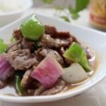 洋葱蚝油牛肉