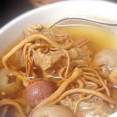 虫草花炖猪骨汤