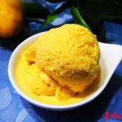 清凉芒果冰淇淋