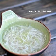 内酯豆腐丝汤