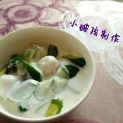 山竹荔枝酸奶沙拉