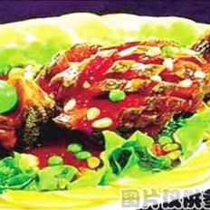 番茄烧青黄鱼