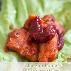 韩国辣酱烤五花肉