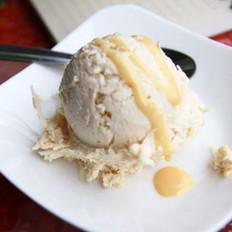 焦糖椰丝冰淇淋