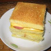 奶酪火腿三明治