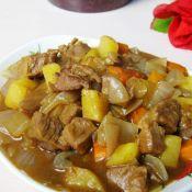咖喱牛肉炖土豆