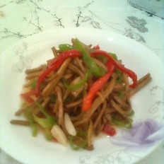 干丝青红椒