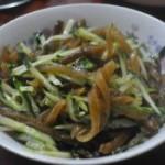 黃瓜拌海茸