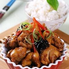 糯米酒烧鸡肉