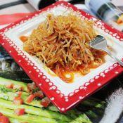 韩式凉拌绿豆芽粉丝