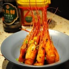 葱花面酱沼虾