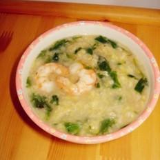 芹菜叶玉米疙瘩汤