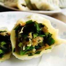 韭菜蛤蜊猪肉水饺