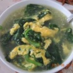 木耳菜蛋花汤