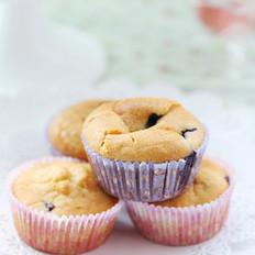 蓝莓蜂蜜杯蛋糕