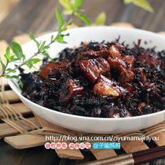 梅干菜捂肉