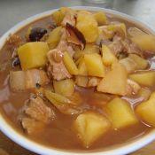 香菇土豆炖肉