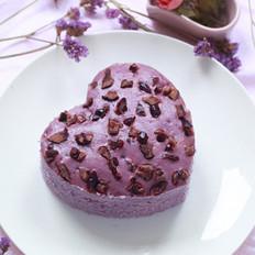 爱心紫薯发糕