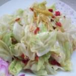 泡椒炝炒包菜